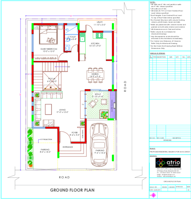 Layout Plan - Ground Floor