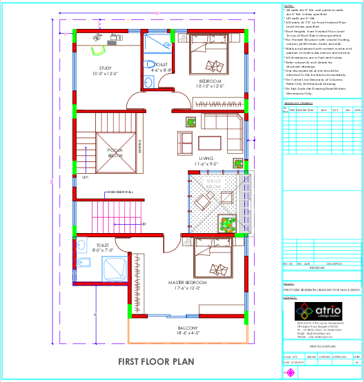 Layout Plan - First Floor