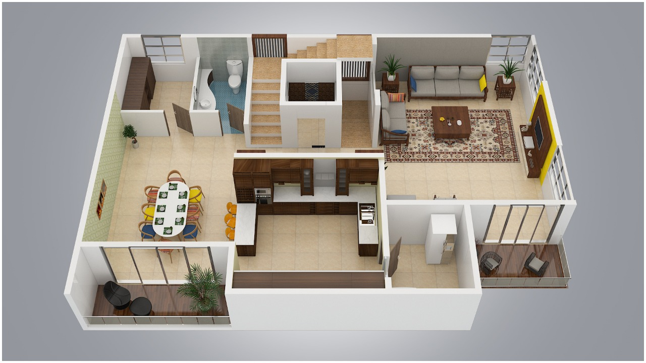 3D Layout Plan
