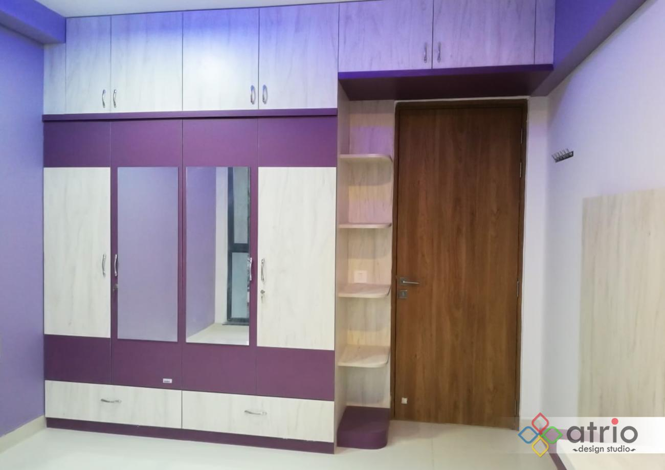 Wardrobe with Mirrors on doors