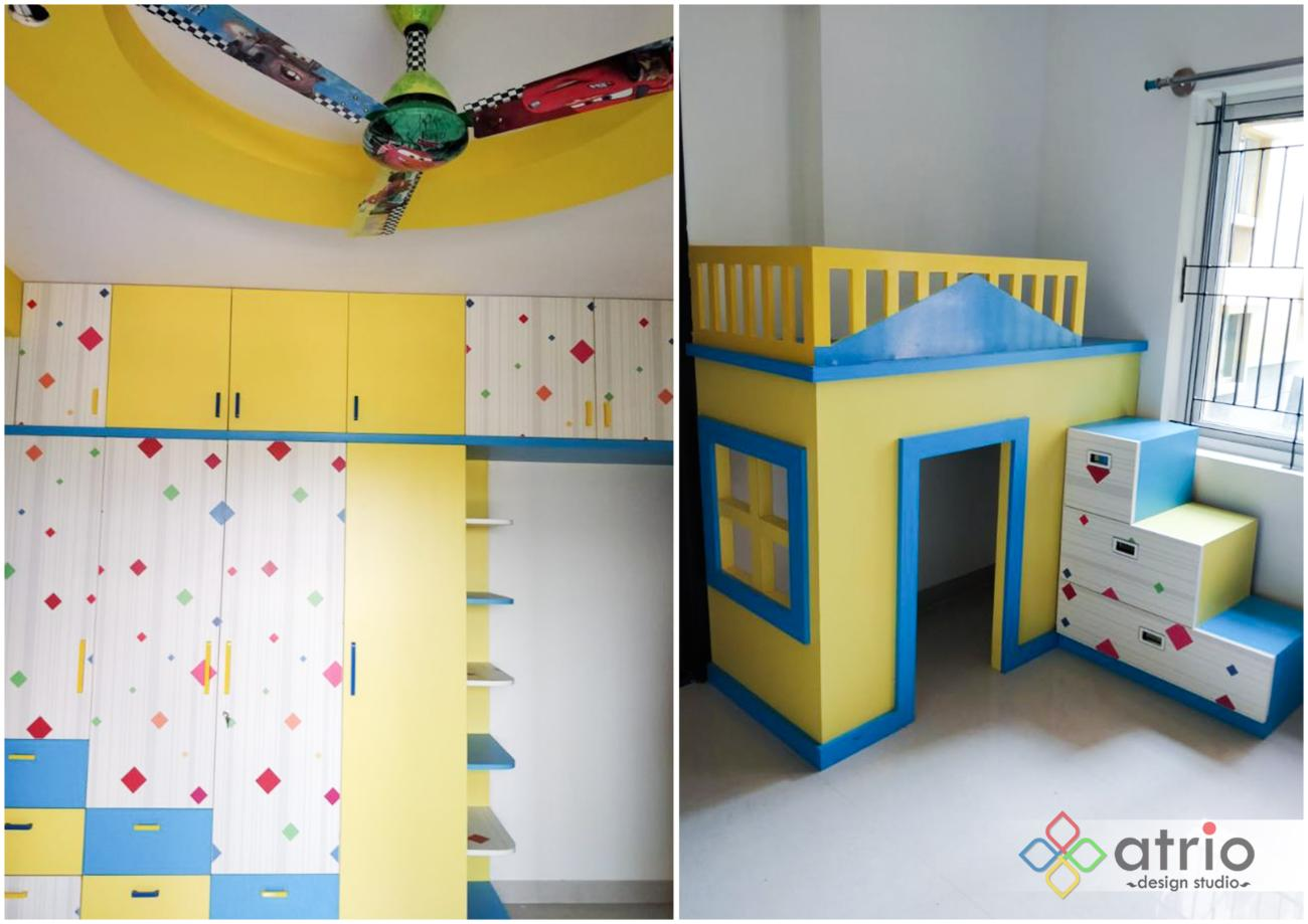 Kids Room Wardrobe and Bunkbed