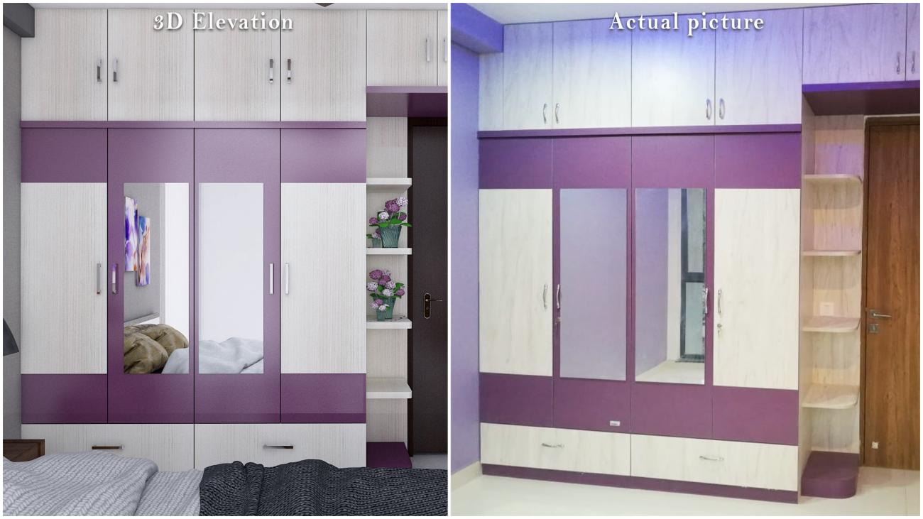 Wardrobe with Openable Doors